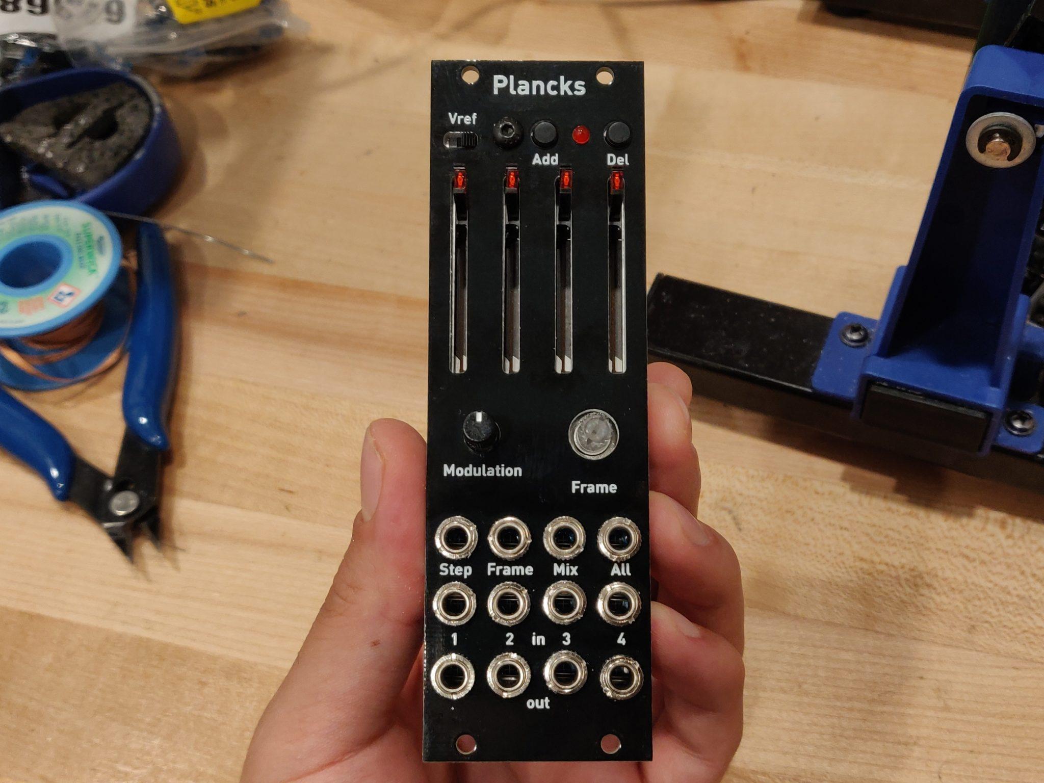Build Diary #1: Plancks II