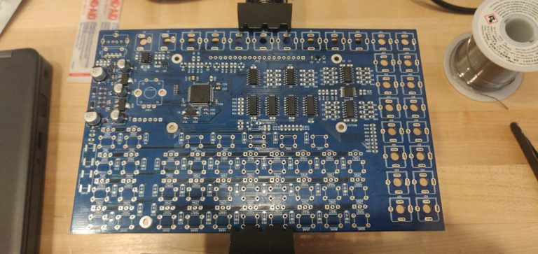 Westlicht Performer with ICs placed on PCB