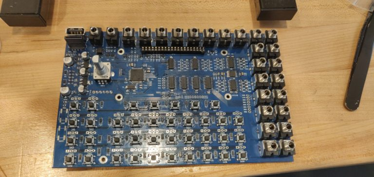 Westlicht Performer with all hardware placed