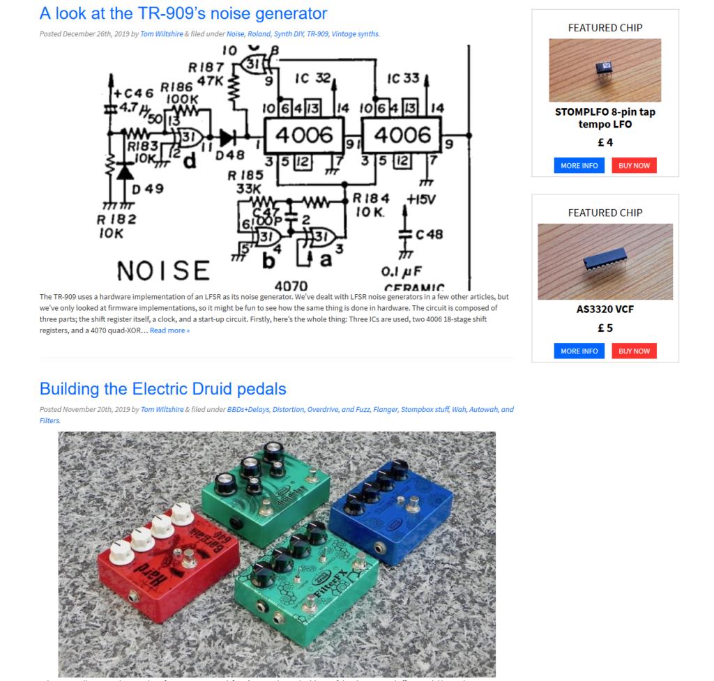 Electric Druid Blog