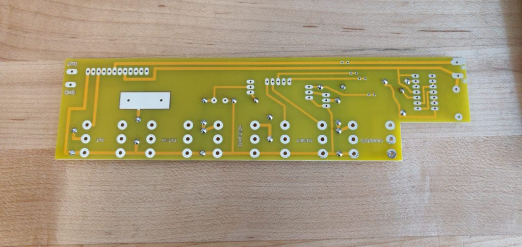 Soldered from top DIY-LYRA 8 Controller Board