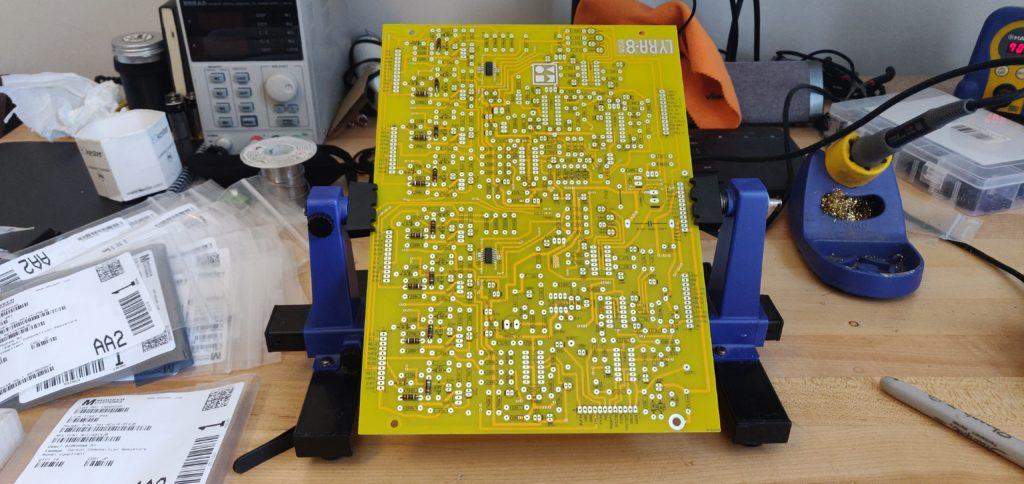 DIY LYRA-8 Main Board Start