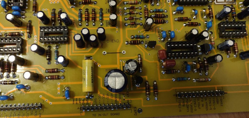 C END Capacitor Line